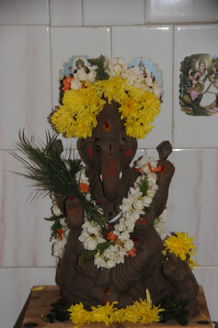 our annual Ganesh festival