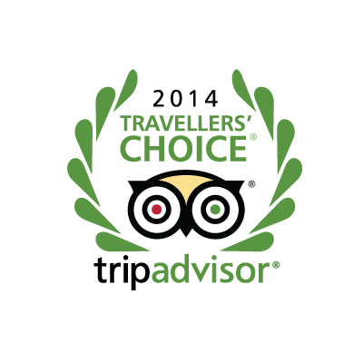 We're a travellers' choice…..