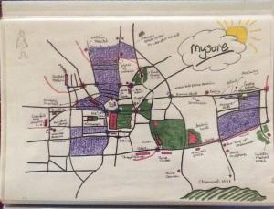 Mysore City Map