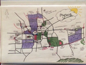 Mysore City Map